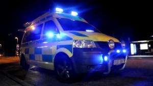 knivskada ambulans