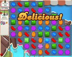 Hata candy crush!
